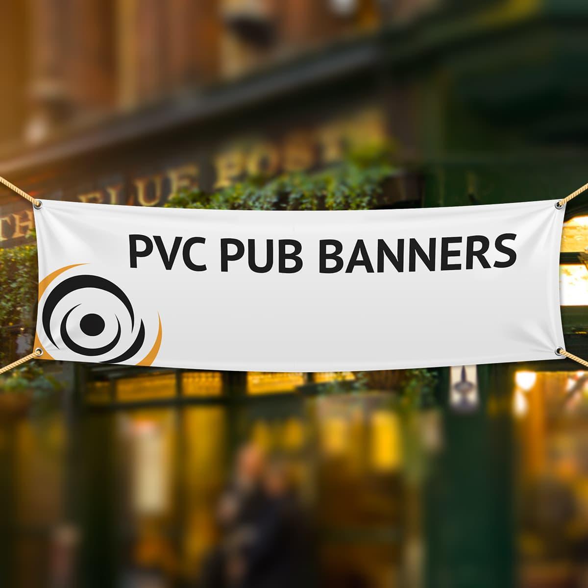 PVC Pub Banners