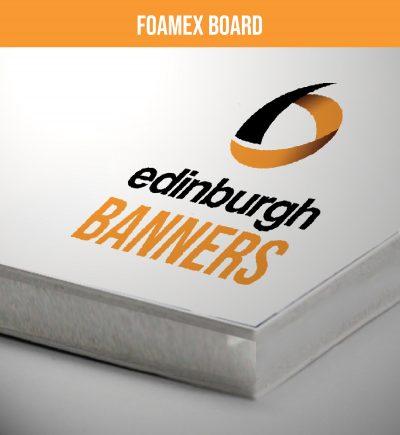 Edinburgh Banners Foamex Boards
