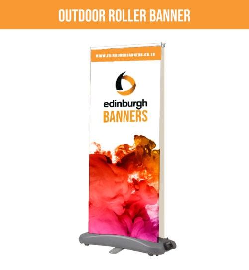 Outdoor Roller Banners